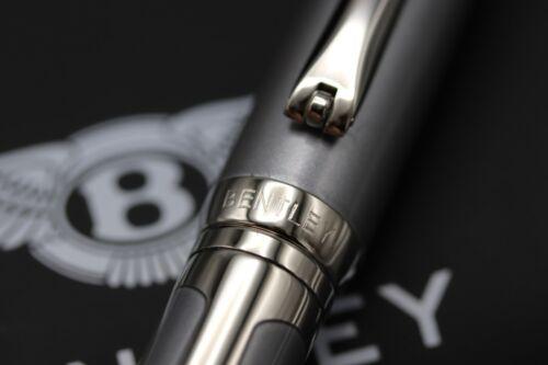 Tibaldi Bentley GT Silver Tempest Fountain Pen 5