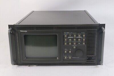 Tektronix Vm700t Video Measurement Set W Opts. 01 11 40 42 48