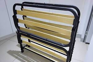 Foldable Single Spared Bed Frame - good condition Bankstown Bankstown Area Preview