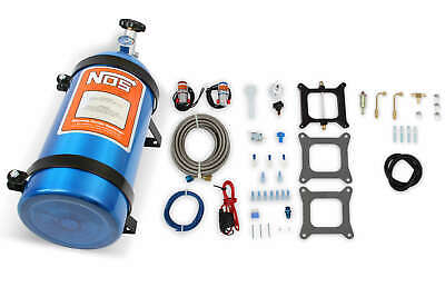 NOS Powershot Nitrous System For Holley 4150 & Carter AFB 125HP W/ 10 LB Bottle