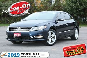 2015 Volkswagen CC LEATHER NAV SUNROOF REAR CAM ONLY 38,000 KM L