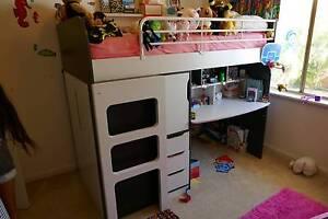 Loft/bunk bed single plus mattress Shenton Park Nedlands Area Preview