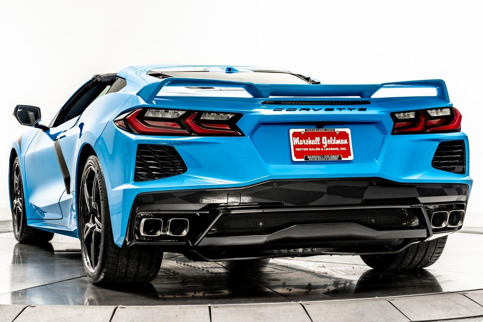 2021 Blue Chevrolet Corvette  3LT   C7 Corvette Photo 6