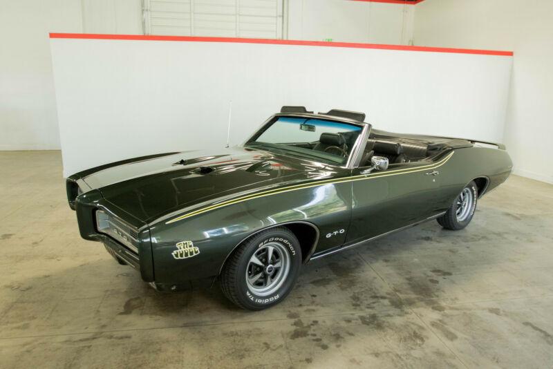 Image 2 Voiture Américaine de collection Pontiac GTO 1969