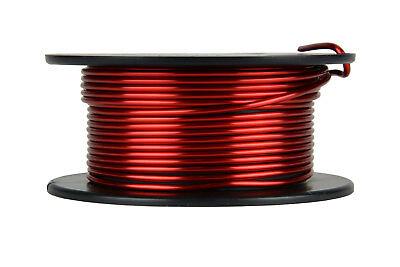 Temco Magnet Wire 12 Awg Gauge Enameled Copper 4oz 155c 12.5ft Coil Winding