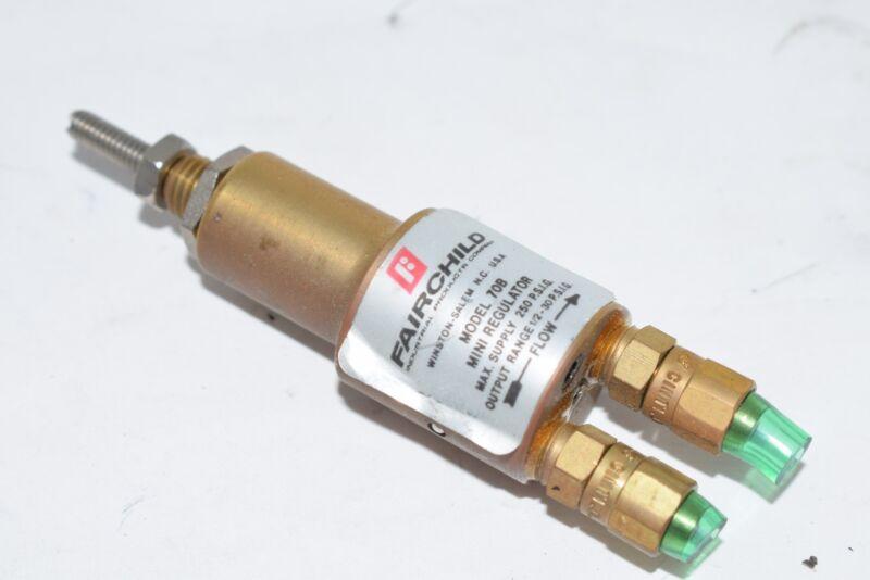 Fairchild 70B Mini Pressure Regulator 250 PSI 1/2-30 PSI Output