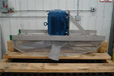 "48"" Cooling Tower Swamp Cooler Fan w/ WEG CC029A 5hp Motor NEW 230/460VAC"
