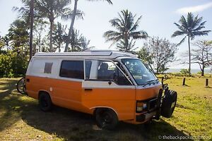 Toyota Hiace Pop Top Campervan R2G Darwin CBD Darwin City Preview