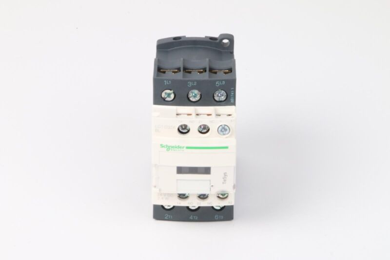 Schneider Electric TeSys D LC1D326BL Contactor 24VDC Coil, 32A, 3-Pole