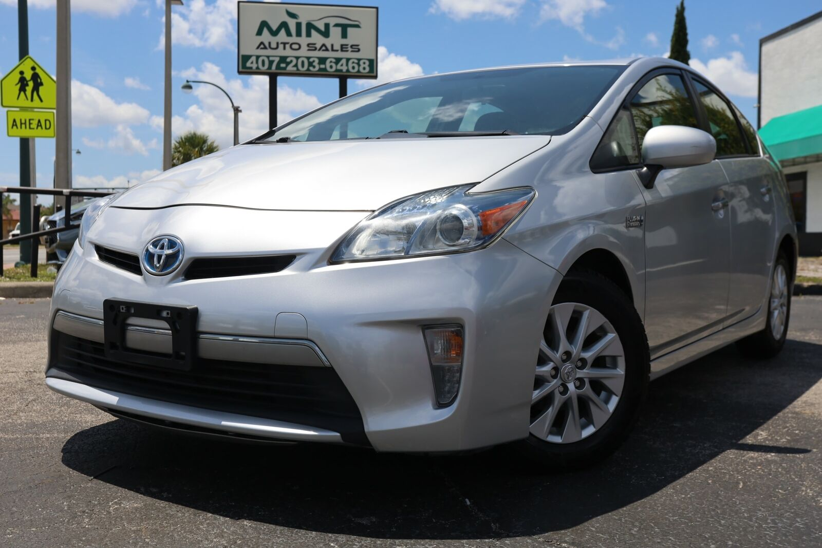 2013 Toyota Prius Plug-in, SILVER with 79438 Miles available now!