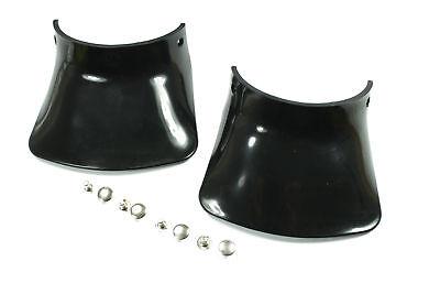 Schmutzschutz Schutzblech Spritzschutz pass f Simson S51 S50 S70 schwarz Nieten