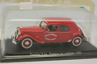 Universal Hobby Stampa 1/43 Citroen Traction 15 6 Vigili Del Fuoco Lannepax 1952 -  - ebay.it