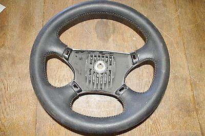 "Boat Steering Wheel 4-Spoke 13-1/2"" 3/4"" Bore Black 3 Flange *FREE SHIPPNG*"