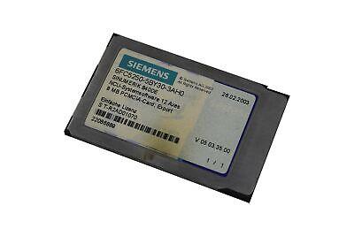 Siemens Sinumerik 840de Ncu-systemsoftware 12 Axes 6fc5250-5by30-3ah0