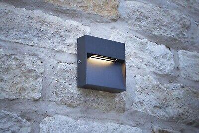 2 X Yukon Powder Coated Square Aluminium LED Eyelid Path Lights IP65