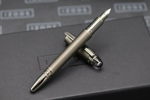 Montblanc Starwalker Midnight Black Metal Fountain Pen - UNUSED - OM Nib 1
