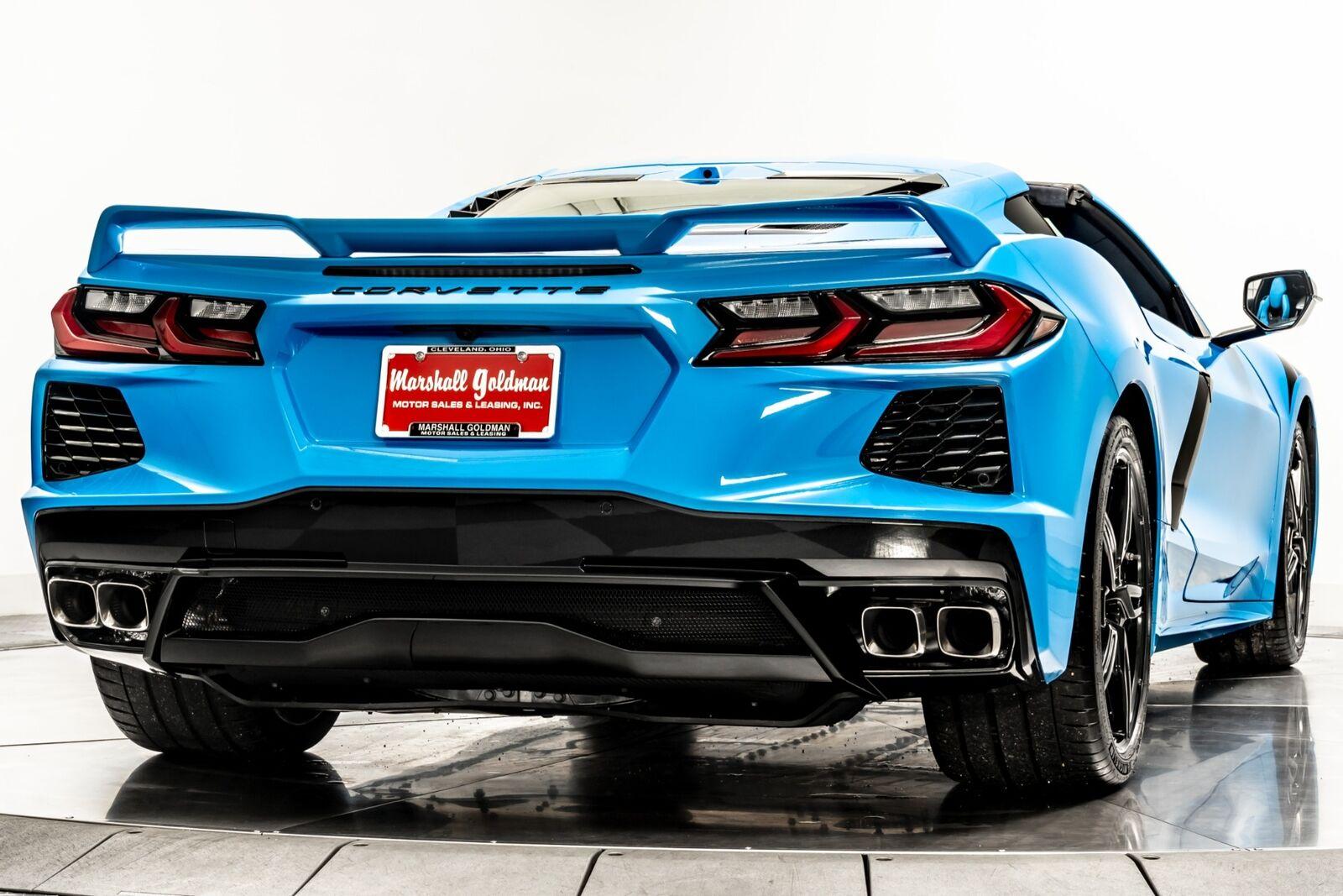 2021 Blue Chevrolet Corvette  3LT   C7 Corvette Photo 8
