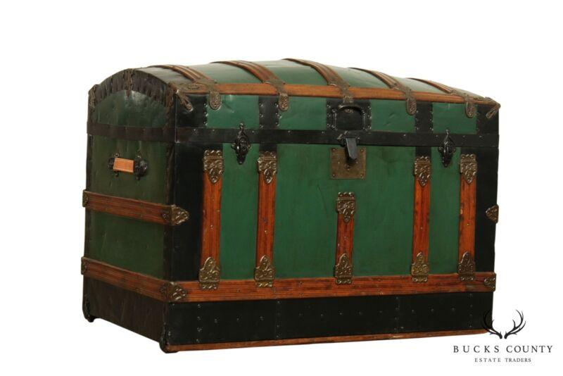 Antique Restored Steamer Trunk