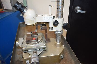 Nikon Measurescope Toolmakers Microscope Mitutoyo Positioning System 10x