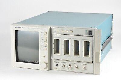 Tektronix 11801c Digital Sampling Oscilloscope Tdr Waveform 8 Channel 50-ghz