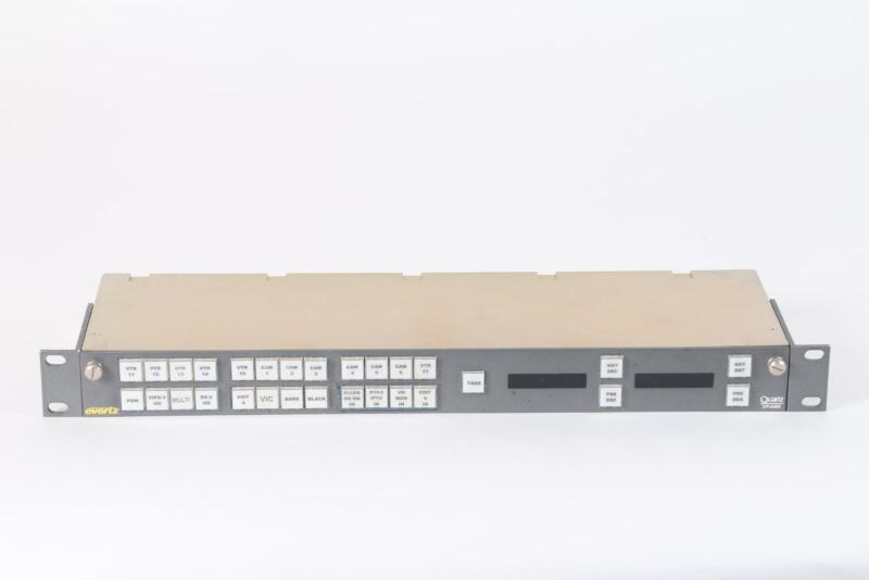 Evertz/Quartz CP--2402 Routing Switcher Remote Control Panel