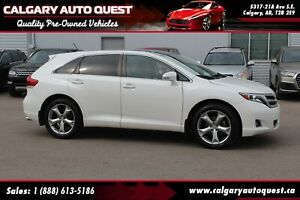 2014 Toyota Venza LIMITED V6 AWD/NAVI/B.CAM/LEATHER/ROOF