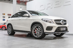 2018 Mercedes-Benz GLE350d 4Matic 292 MY18 Diamond White 9 Speed Automatic Coupe