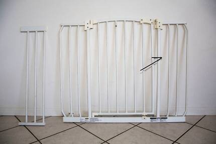 Perma Child Safety Gate & Extension.  Two available