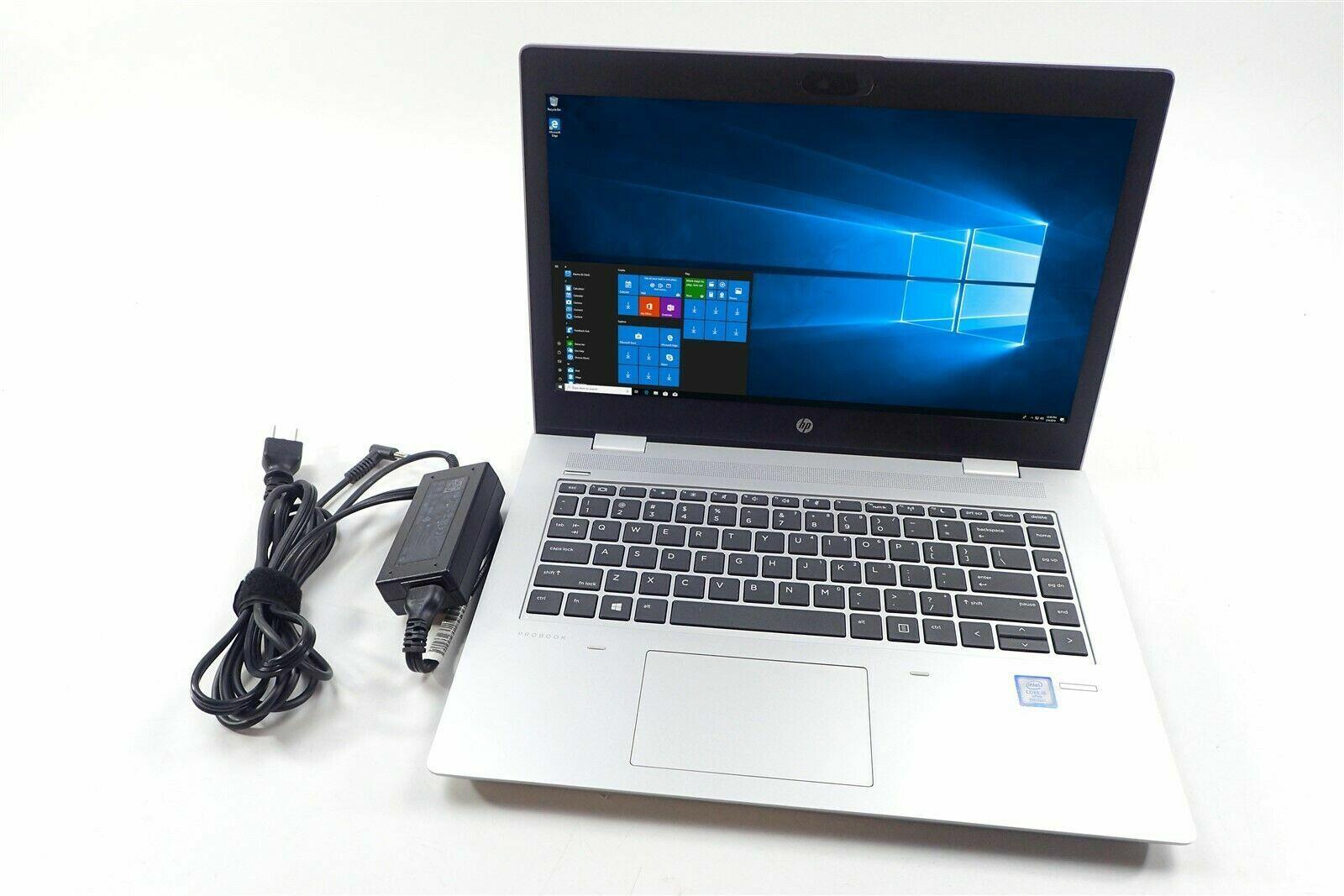 HP ProBook 640 G4 Laptop 14 LCD Intel I3-8130U 2.20Ghz 8GB 1TB HDD WIFI/BT W10P - $202.50