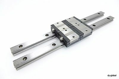 HSR30LR+245mm HSR30H THK Used LM Guide CNC Route NSK Linear Bearing 1Rail 1Block