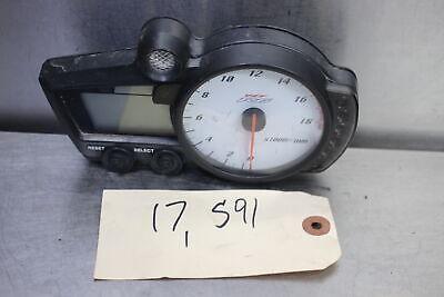 05 Yamaha YZF R6 Gauges Speedo Tach Cluster Speedometer 17K