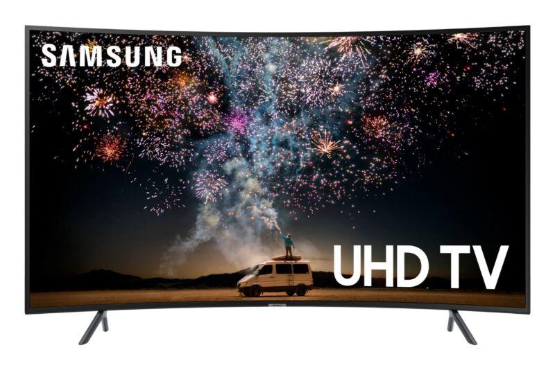 Samsung UN65RU7300FXZA Curved TV 65 Inch 4K UHD 7 Series Ultra HD Smart HDR New
