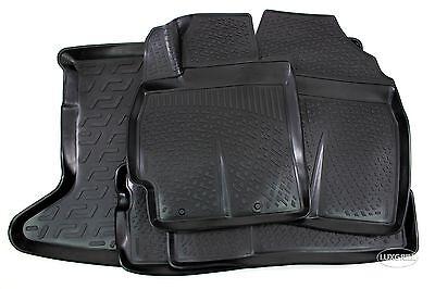 Kofferraumwanne Kofferraummatte passend für Toyota Auris 2006-2012 Laderaumwanne