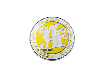 Used, JAF Yellow Universal Japan Automobile Federation Badge Sticker Emblem Decal  for sale  Shipping to Canada