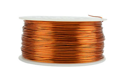 Temco Magnet Wire 22 Awg Gauge Enameled Copper 200c 1lb 501ft Coil Winding