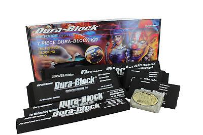 Durablock Af44l 7-piece Dura Block Sanding Kit Af4400 Thru Af4405 Af4408-s