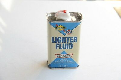 Vintage Sunoco   Dx Lighter Fluid Can Sunoco Can