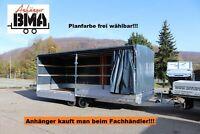 Hapert Hochlader Anhänger AZURE 605x240 3500kg Plane + Parabel Baden-Württemberg - Tannheim Vorschau