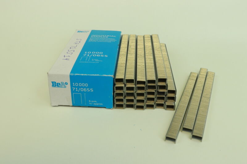BeA Series 71 Steel Staples