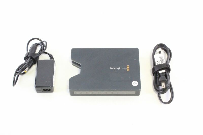 Blackmagic Design HyperDeck Shuttle 2 SSD Video Recorder w/ PSU (Untested)