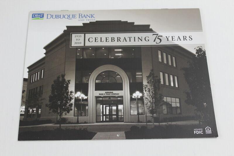 Dubuque Bank & Trust Celebrating 75 Years Calendar Dubuque Iowa DB&T Pictures 10