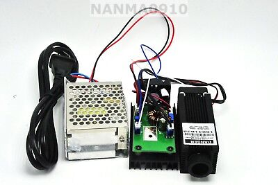 Focusable 1.6w 1600mw 808nm Infrared Ir Laser Dot Module W 12v 2a Power Supply