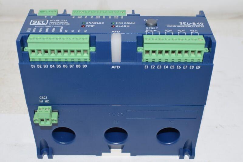 NEW SEL SCHWEITZER ENGINEERING  SEL-849 Motor Management Relay