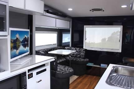 2012 5th WHEELER +CHEV SIVERADO DUAL CAB LUXURIOS $145000 Gumeracha Adelaide Hills Preview