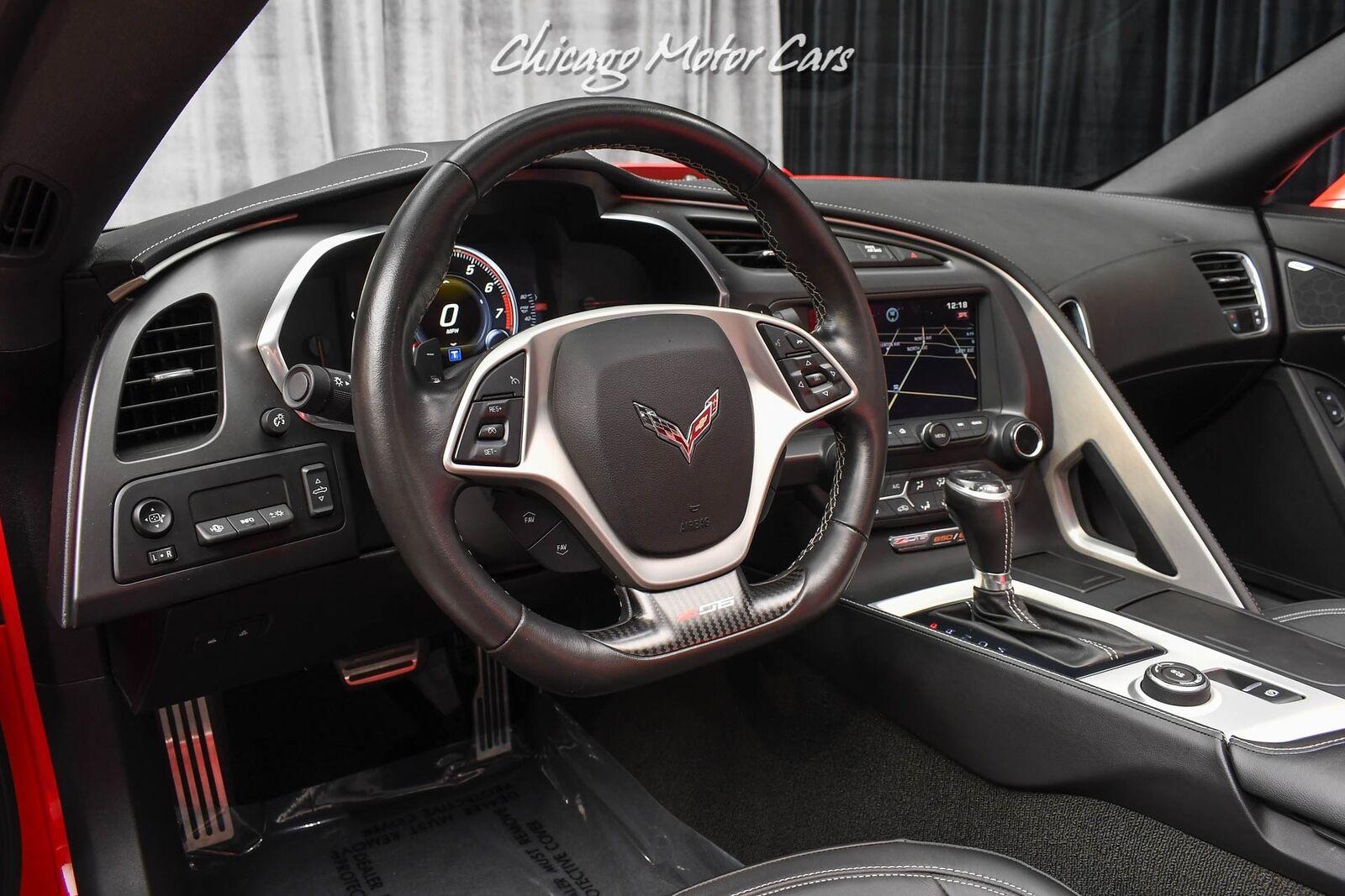 2015 Red Chevrolet Corvette Z06 2LZ | C7 Corvette Photo 8