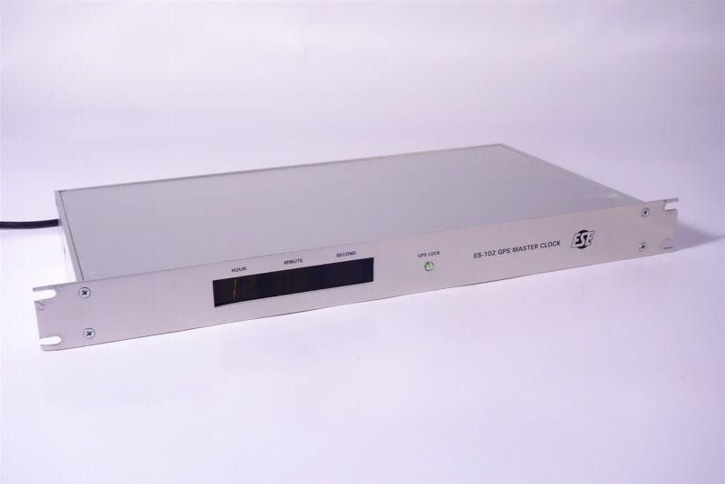 ESE ES-102 GPS Master Clock / TimeCode Generator