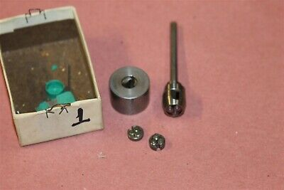 Harold Habegger Axial Thread Rolling Die Head Holder 0-80 and 2 Die Sets LOT #1  for sale  Garden Grove