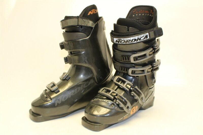 Nordica GP 07 Mens 8.5 26.5 Downhill Ski Boots