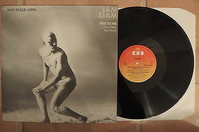 Maxi-Single:  Iam Siam – Talk To Me (I Can Hear You Now) NL 1984 Electronic