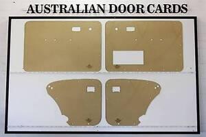 Volkswagen VW BEETLE 1967 - 1977. Door Cards, Blank Trim Panels. Wangaratta Wangaratta Area Preview